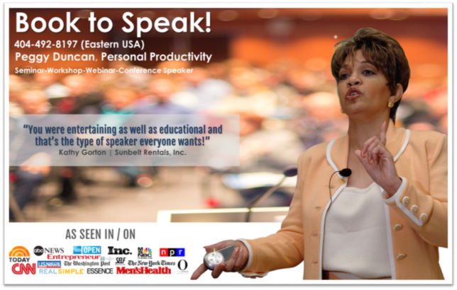 Book Peggy Duncan to speak at your next event conference Webinar