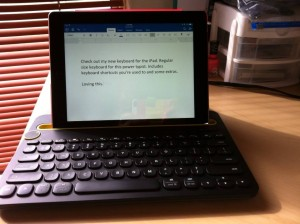 Logitech Bluetooth keyboard K480 for iPad