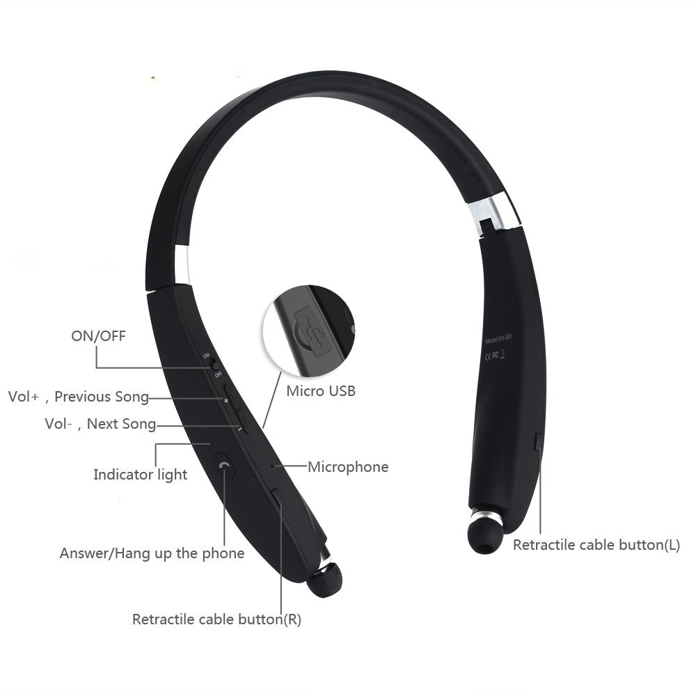 Bluetooth headset for iPhone, iPad