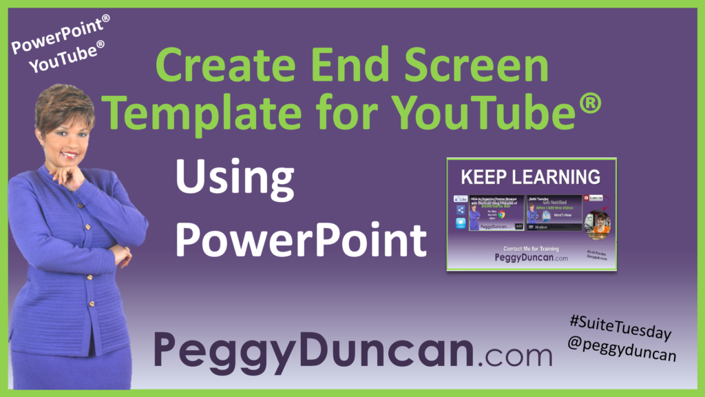 Use Point To Create You End Screen Template